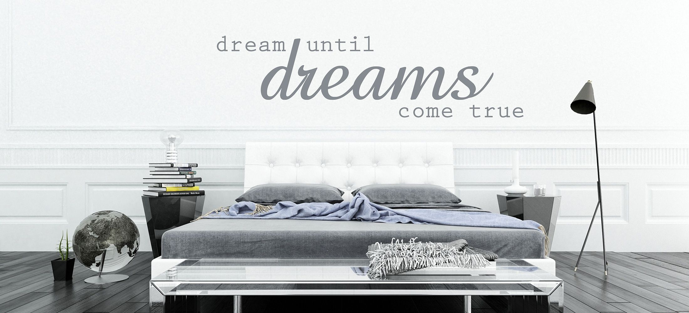 Muursticker slaapkamer - Cameo | Pinterest - Slaapkamer ...