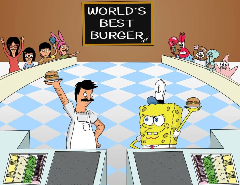 The belcher family vs spongebob bob s burgers television