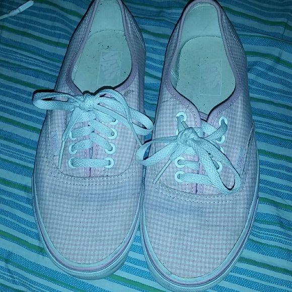 white checkers vans   Vans, Vans shoes