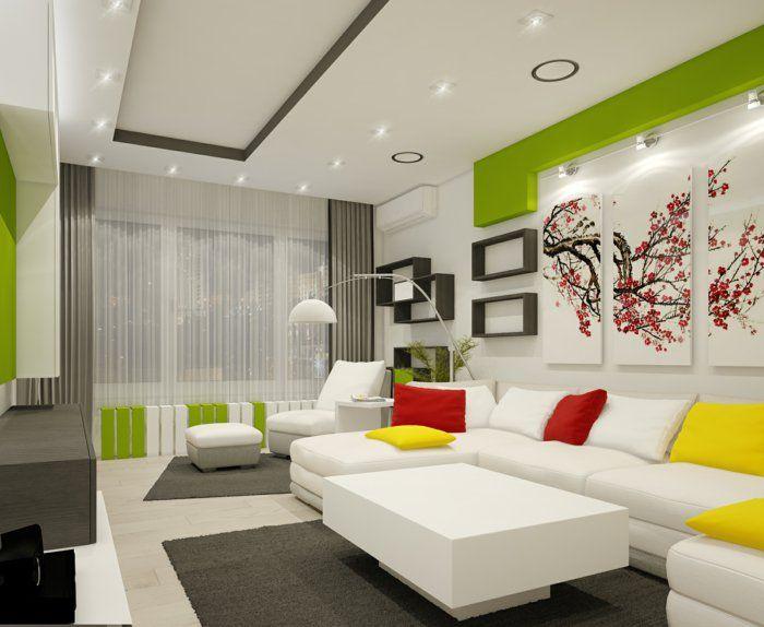 1001 wohnzimmer einrichten beispiele welche ihre for Moderne wandregale wohnzimmer