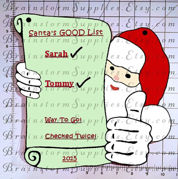 Santa\u0027s List Wall Decor and 10\