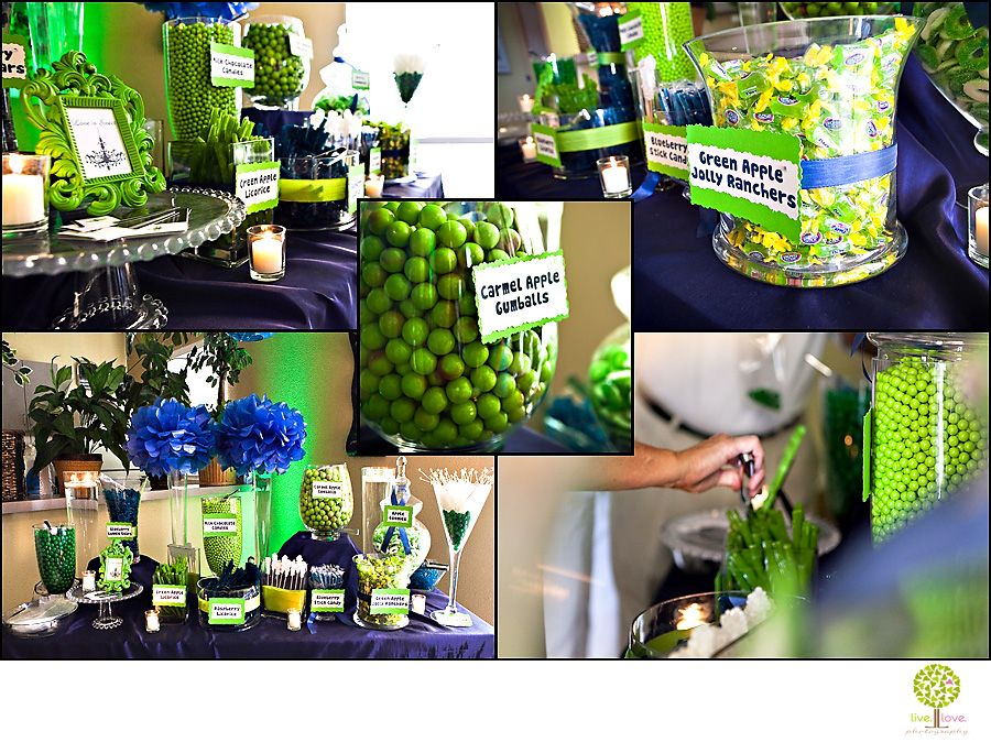 Navy Blue And Lime Green Weddings Love Everything About Them Here Are