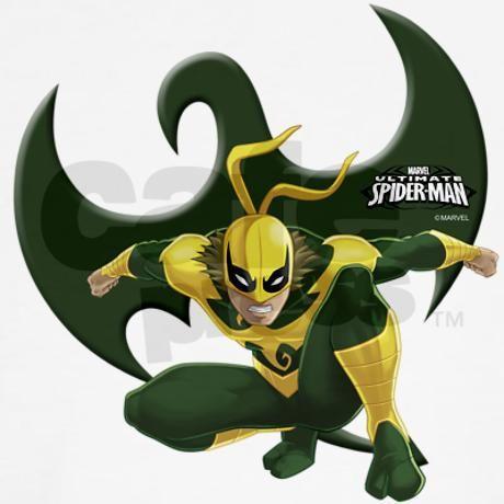 Was back iron fist spider man hunhun tasta