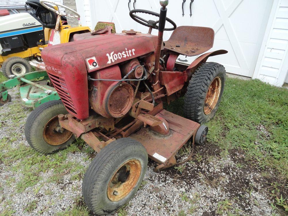 Vintage 1963 wheel horse 753 lawn garden tractor for Lawn garden equipment