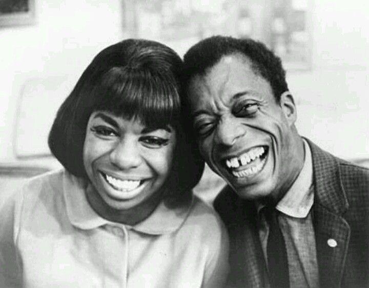 Nina Simone & James Baldwin lovin life!