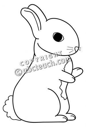 Bunny Cartoon Clip Art Black And White Rabbit Animal Cartoon Clip Art Clip Art Black And White Black And White Rabbit