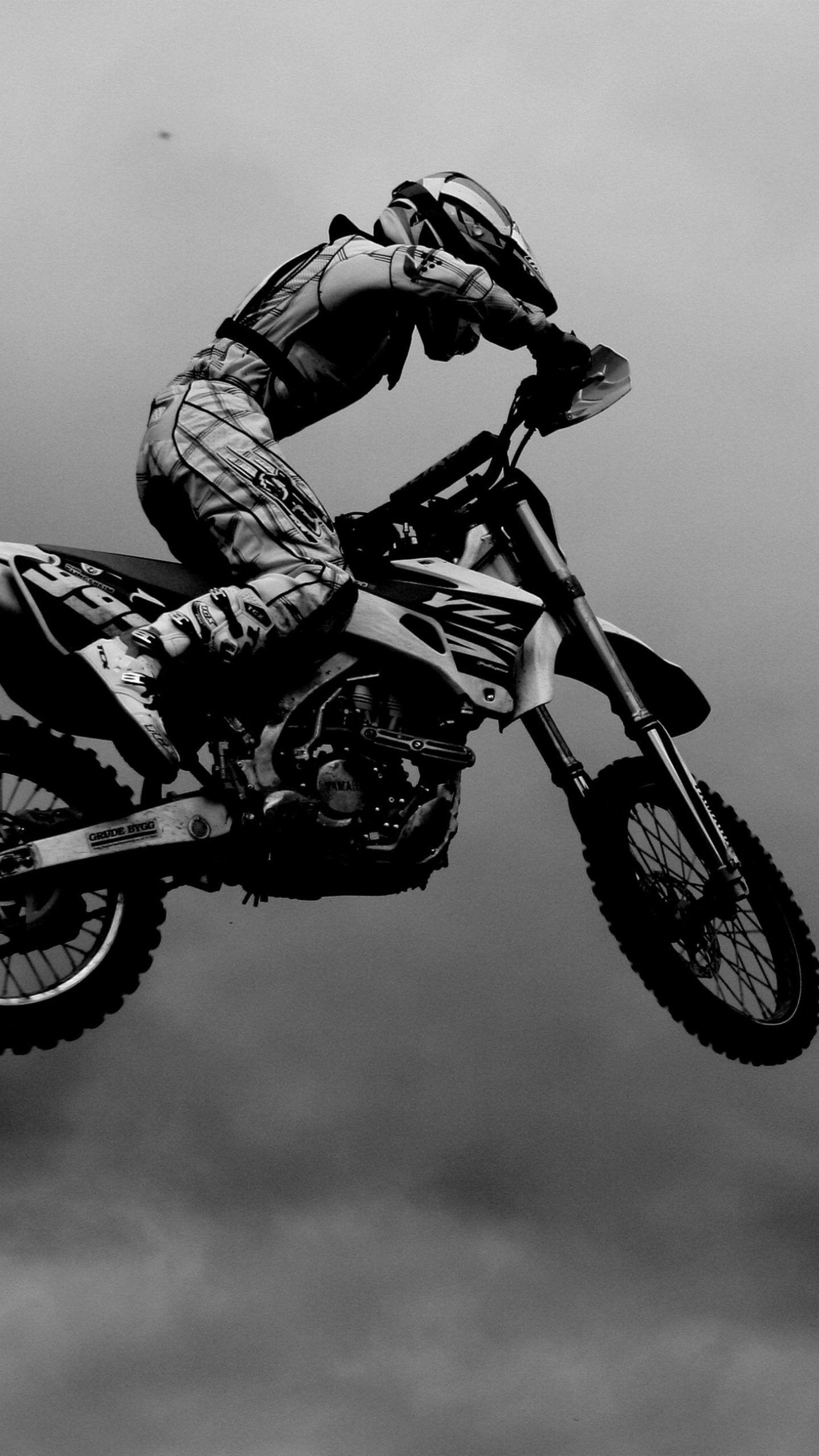 Motocross Black White 4k Ultra Hd Mobile Wallpaper Motorcycle Wallpaper Motocross Bikes Motocross