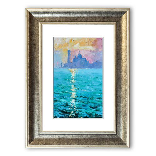 Photo of East Urban Home Framed Poster Venetian waters | Wayfair.de
