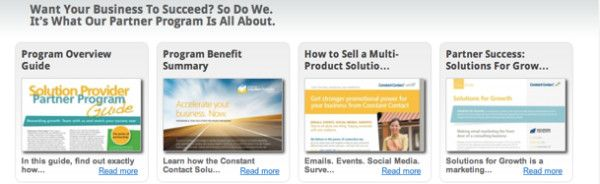 My second Constant Contact blog...all about the #SolutionProvider program.