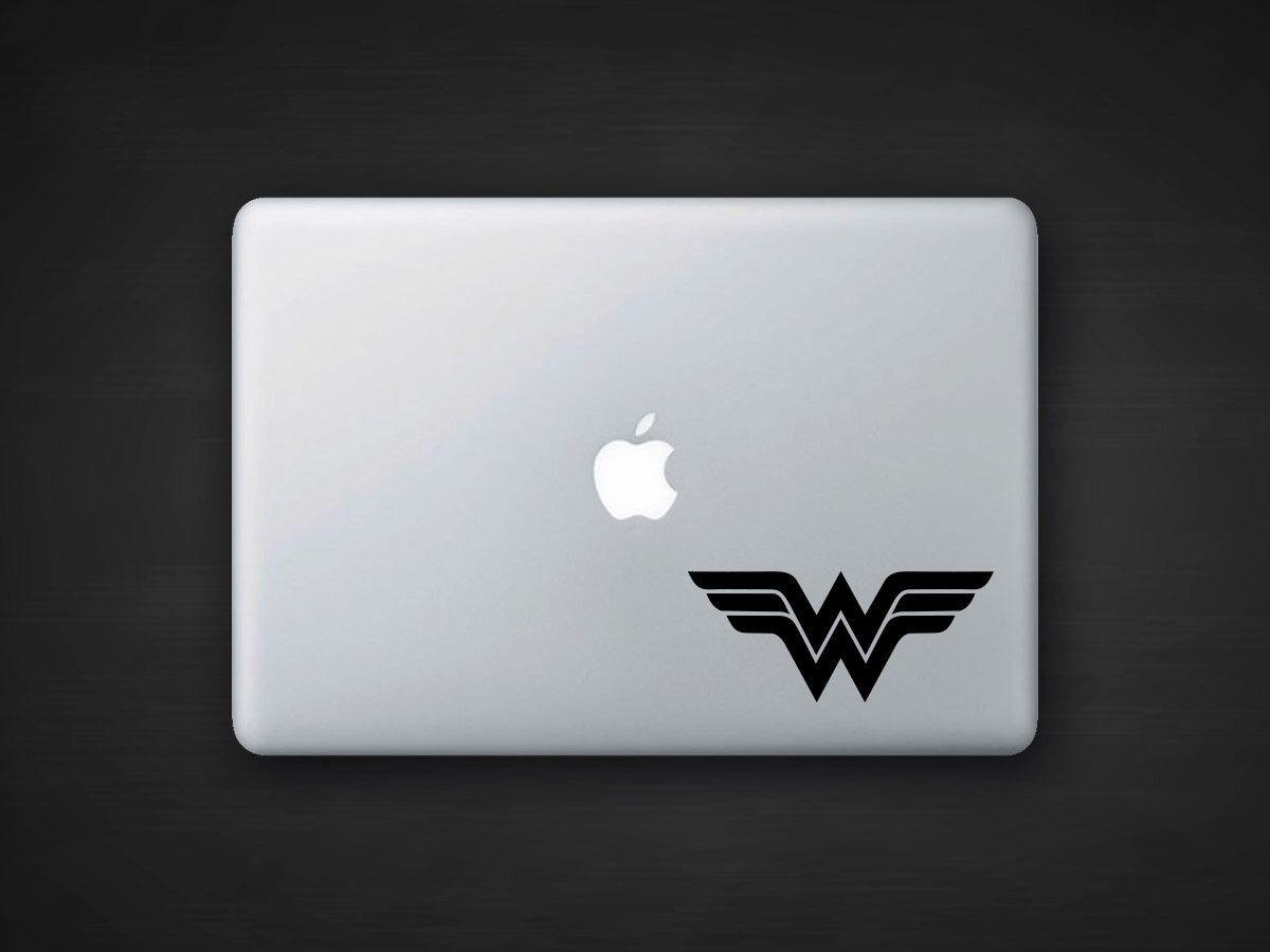 Wonder Woman Decal Laptop Decal Car Sticker Laptop Decal Car Stickers Etsy [ 900 x 1200 Pixel ]