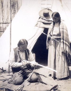 """Indian Whittling Bow"" 