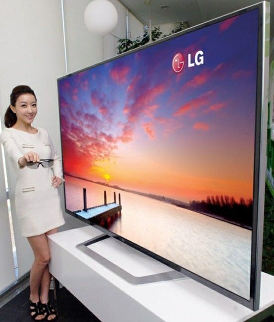 The Biggest Lcdhd In The World Technology Cool Technology 4k Tv