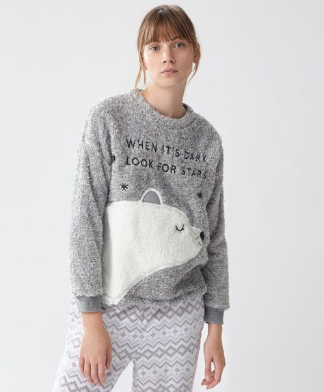 Fleeces - PYJAMAS - Winter Sale 2016 trends in women fashion  63b6704867ce