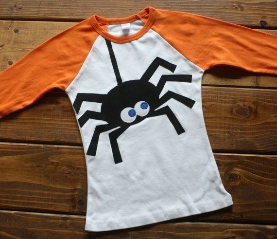 Halloween Spider Shirt for Boys or Girls | Itsy Bitsy Spider Shirt #pumpkinpatchoutfit