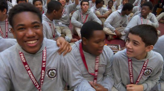 """Their school motto is """"Whatever hurts my brother hurts me"""" and their graduation rate is 98 percent. Scott Pelley reports on a unique school in Newark"""