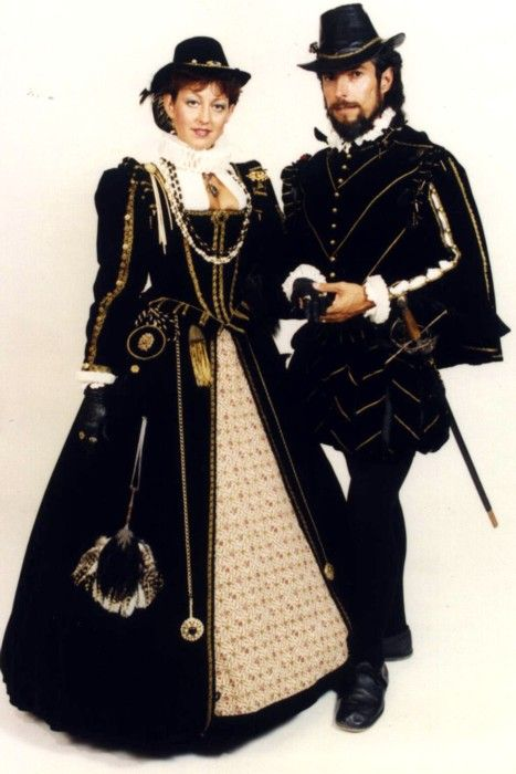 noble couple | men\'s elizabethan costumes | Pinterest | Rock und Mode