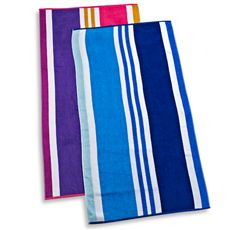 Cabana Stripe 30 X 60 Beach Towel Bed Bath Beyond Beach