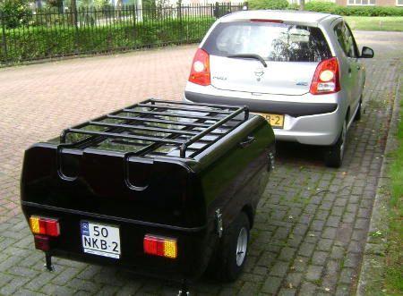 on sale 6361e 42a75 Campmaster Drenthe Mini Trailer Tent   Compact Car Trailer ...
