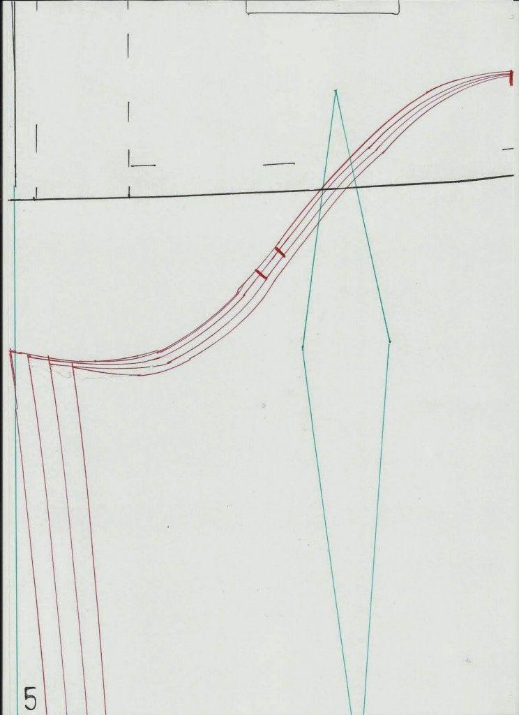 SHIRT DASAR - Cetakan untuk Mengukur Mode