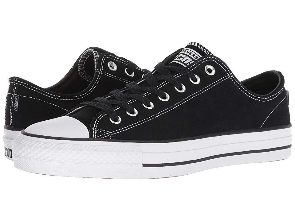 60baf4251349b8 Converse Skate CTAS Pro Ox Skate (Black Black White) Lace up casual ...