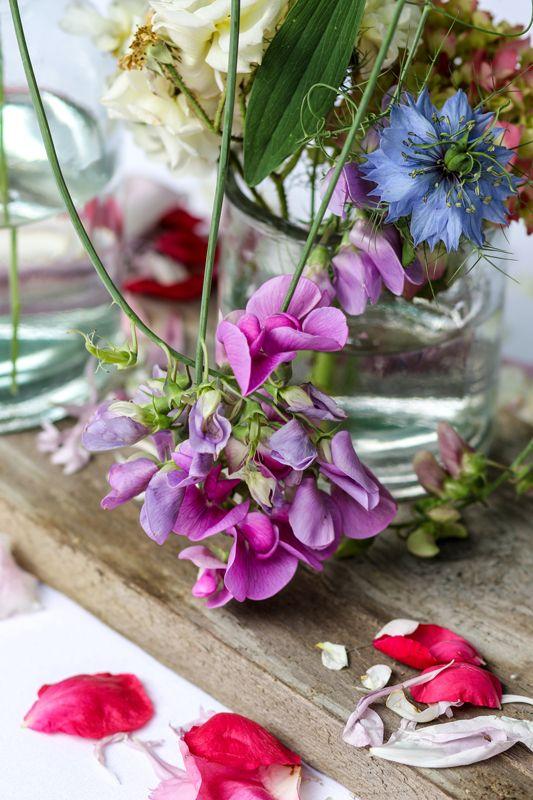 Wild Flowers Gartenblumen Dekorativer Ausgefallener Blumenschmuck