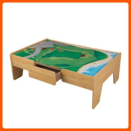KidKraft Wooden Play Table Train