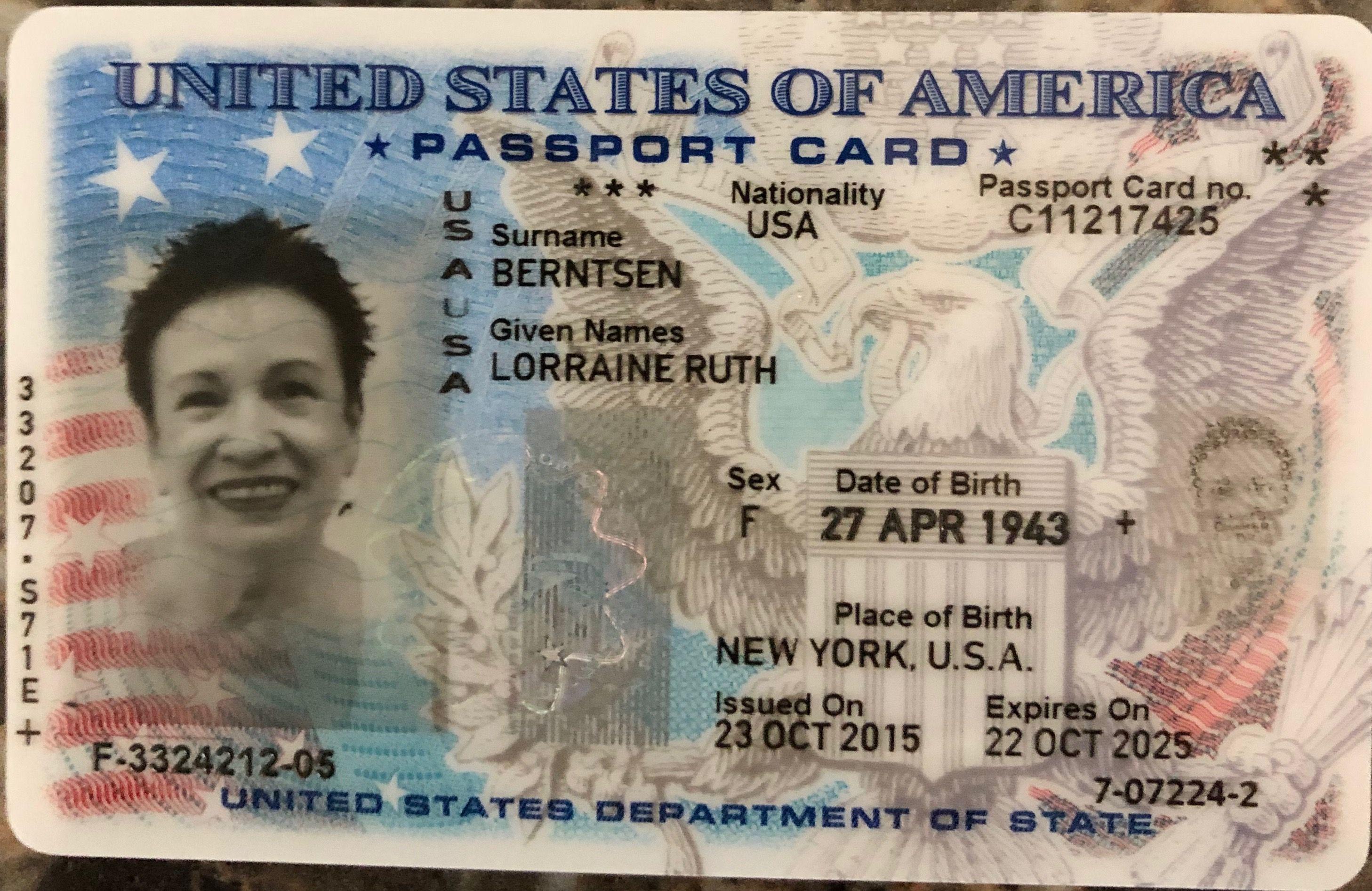 requirements passport card usa  cardbkco