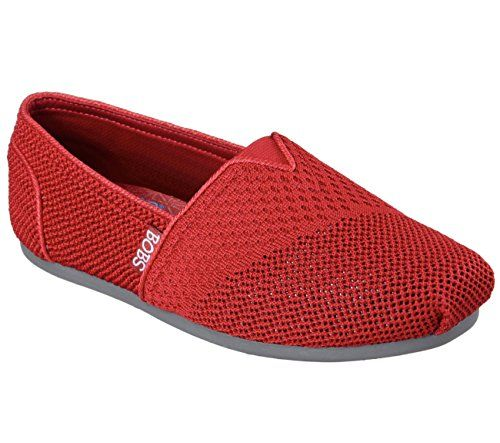 Bobs by Skechers Plush-Urban Trails Women US 9.5 Red Walking Shoe -- Continue @
