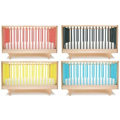 Kalon Studios Caravan Crib - Modern Baby Cribs - Furniture ...