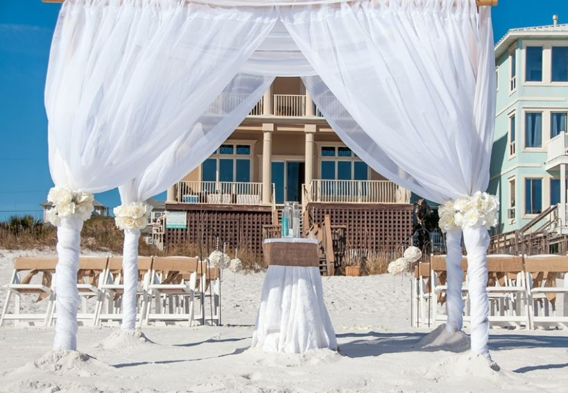 beach wedding ideas in Destin florida and Panama City ...