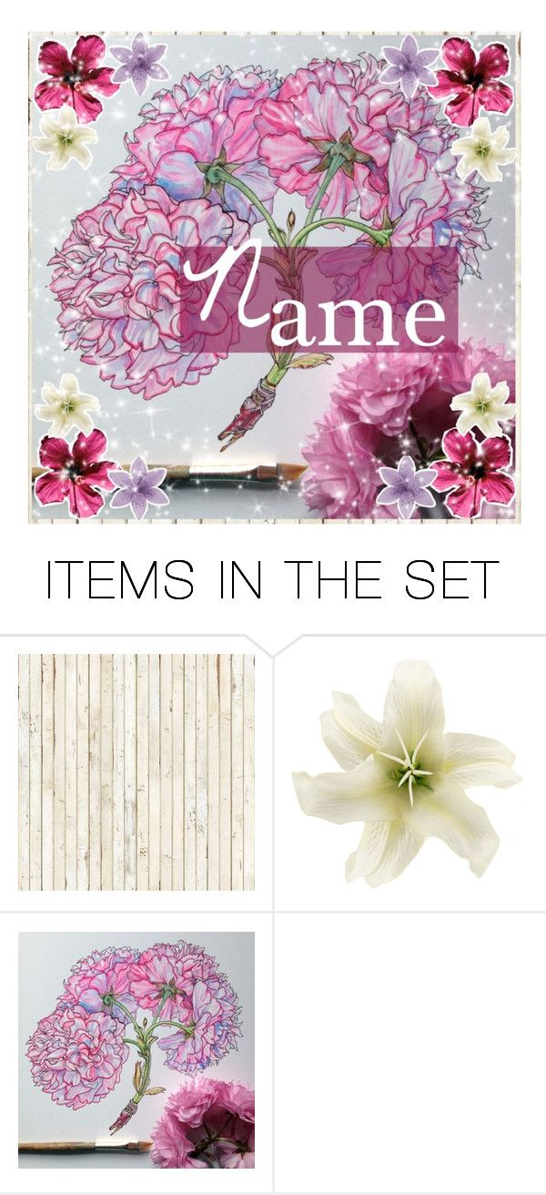 """""""OPEN iCON ~ flowers"""" by mxsic-galaxy ❤ liked on Polyvore featuring art"""