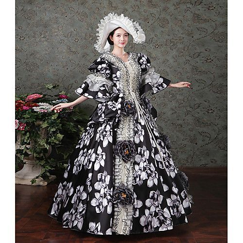 Punk Lolita Rococo Victorian 18th Century Dress Party Costume Masquerade Ball Gown Women's Girls' Costume Vintage Cosplay Satin Party Prom Long Sleeve Floor Length Ball Gown Plus Size Customized - £116.84 ! Amazing item, amazing price! Catch it now from LightInTheBox > #masqueradeballgowns Punk Lolita Rococo Victorian 18th Century Dress Party Costume Masquerade Ball Gown Women's Girls' Costume Vintage Cosplay Satin Party Prom Long Sleeve Floor Length Ball Gown Plus Size Customized - £116.84 ! #masqueradeballgowns
