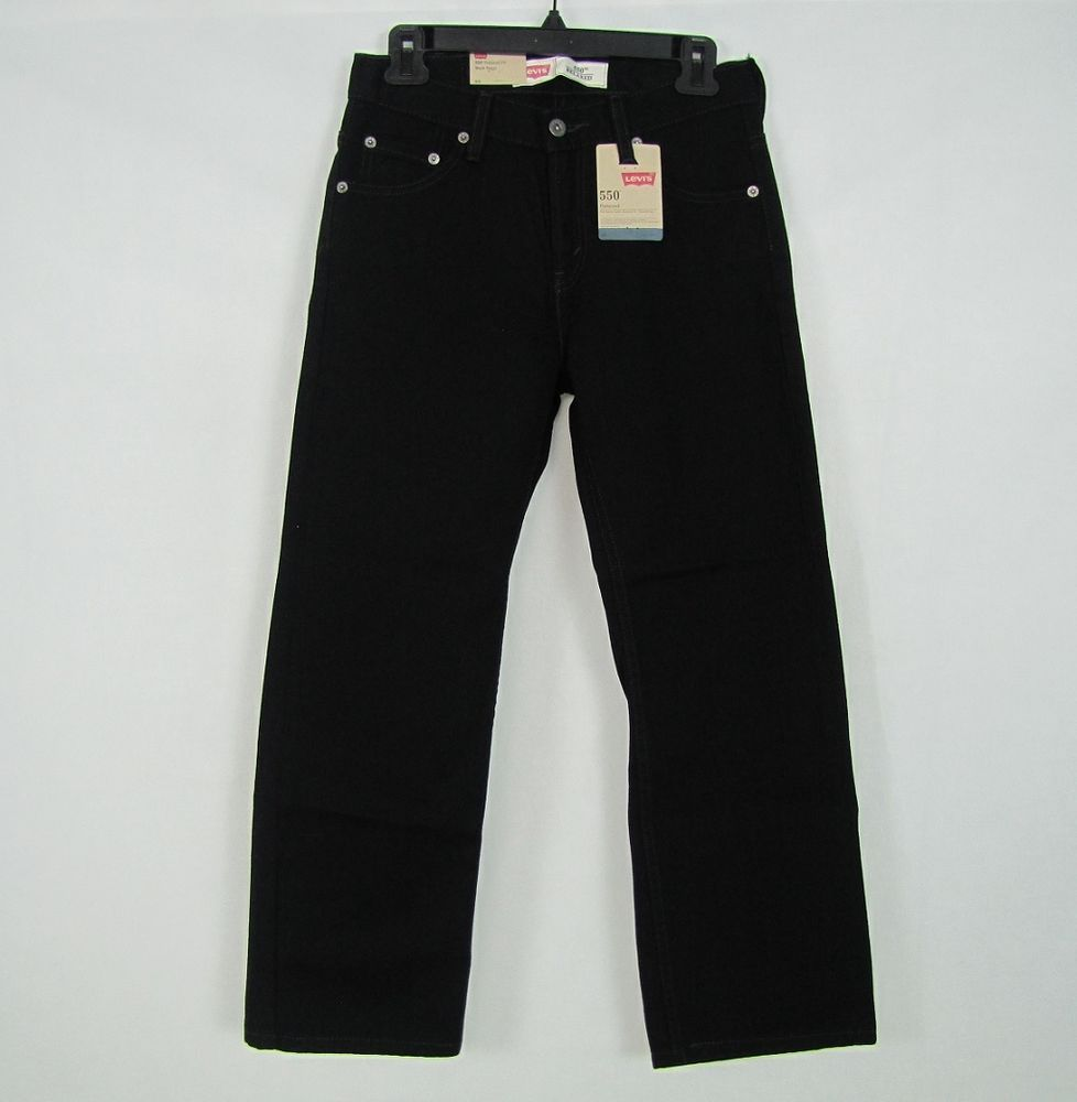 0841391a Levi's 550 Relaxed Fit Tapered Leg Boy's Jeans Size: 10 Husky(28x26) NEW # Levis #RelaxedFitTaperedLeg 24.96
