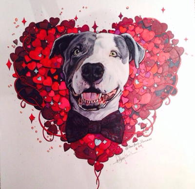 Please vote for this entry in Why my dog is my Valentine.!