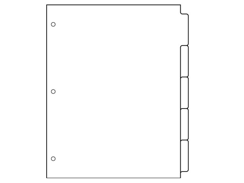 Printable Binder Divider Tabs Binder Tabs Mini Binder Binder Dividers