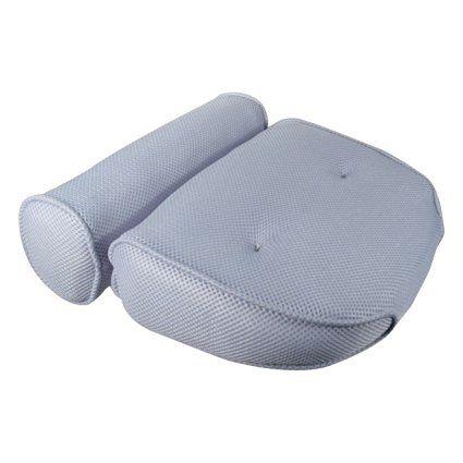 Ideaworks Home Spa Bath Pillow 14 X 13 X4 Neck Back