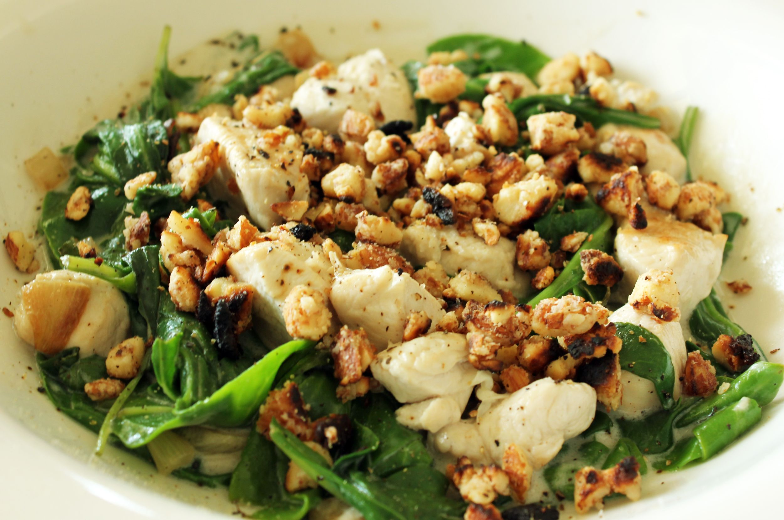 Coconut Chicken With Spinach The Candida Diet Recipe Candida Recipes Candida Diet Recipes Candida Diet