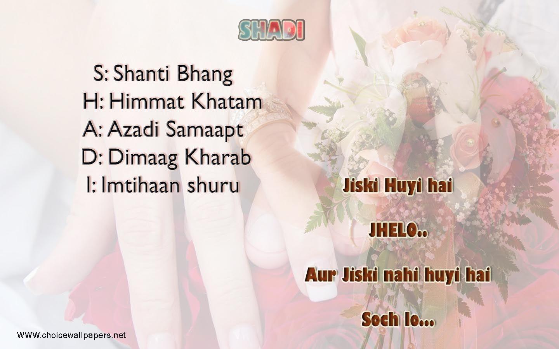 funny quotes images hindi Hindi Wedding quotes on