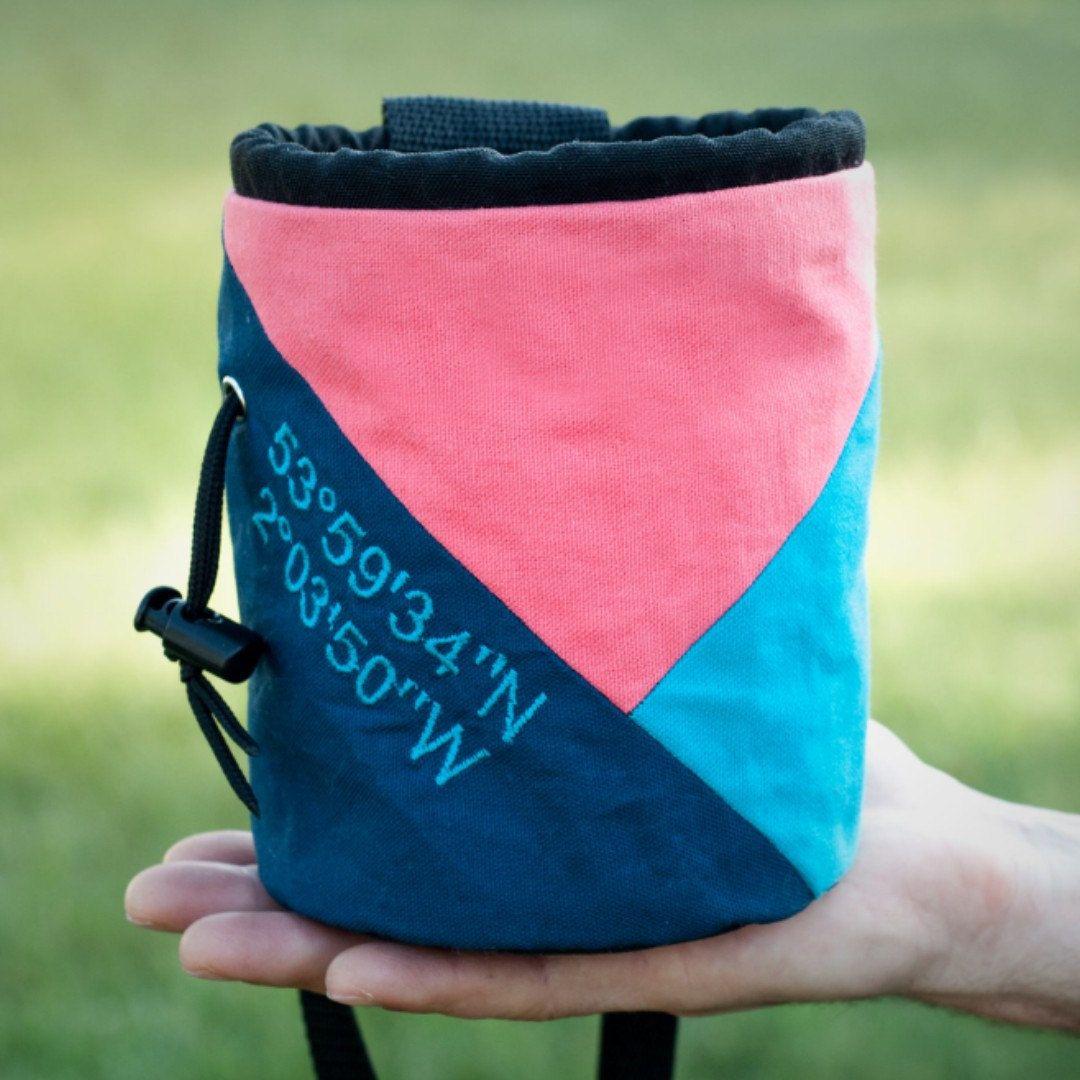 Pink Rock Chalk Backpack