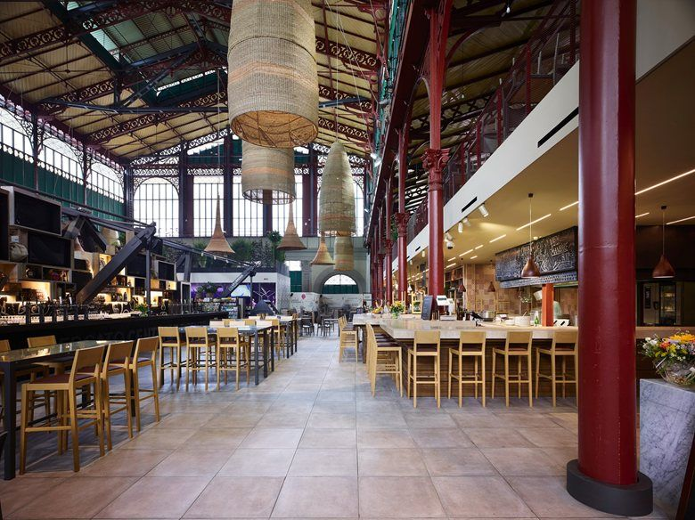 The renovation plan for Florence\'s San Lorenzo Central Market\'s ...