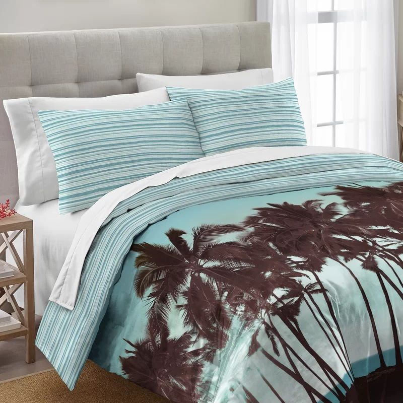 Palm Tree Bedding Sets Comforters Quilts Beachfront Decor Comforter Sets Bedding Sets Tropical Bedding Sets Palm tree comforter sets queen