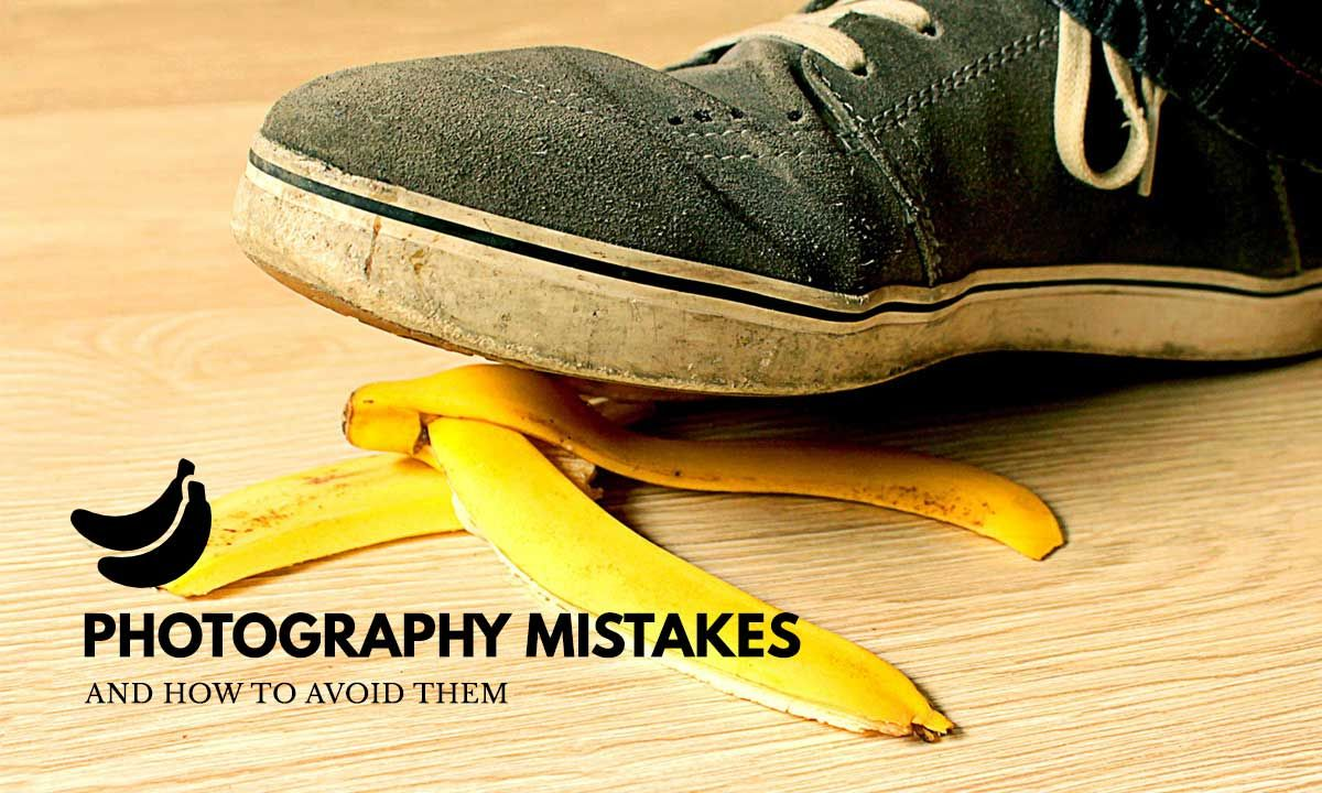 We all have our own share of photography mistakes. Here is a sharing on some of the silly and embarrassing ones that you should learn to avoid.