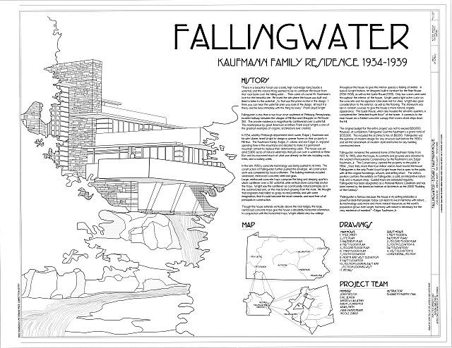 Cover Sheet - Fallingwater, State Route 381 (Stewart Township