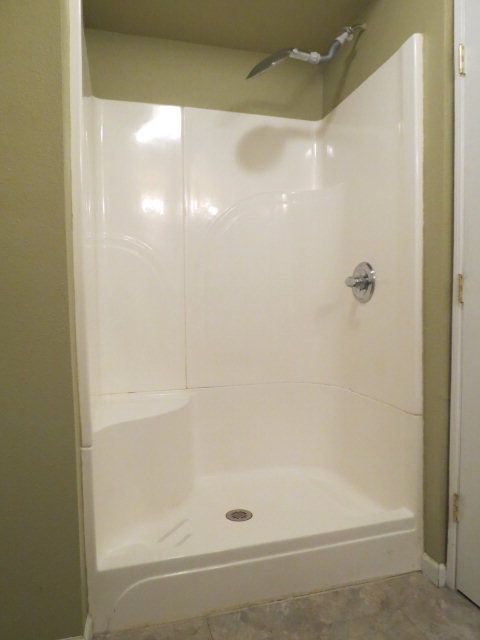 Replace Tub Shower Combo With Seamless Shower Unit With Images