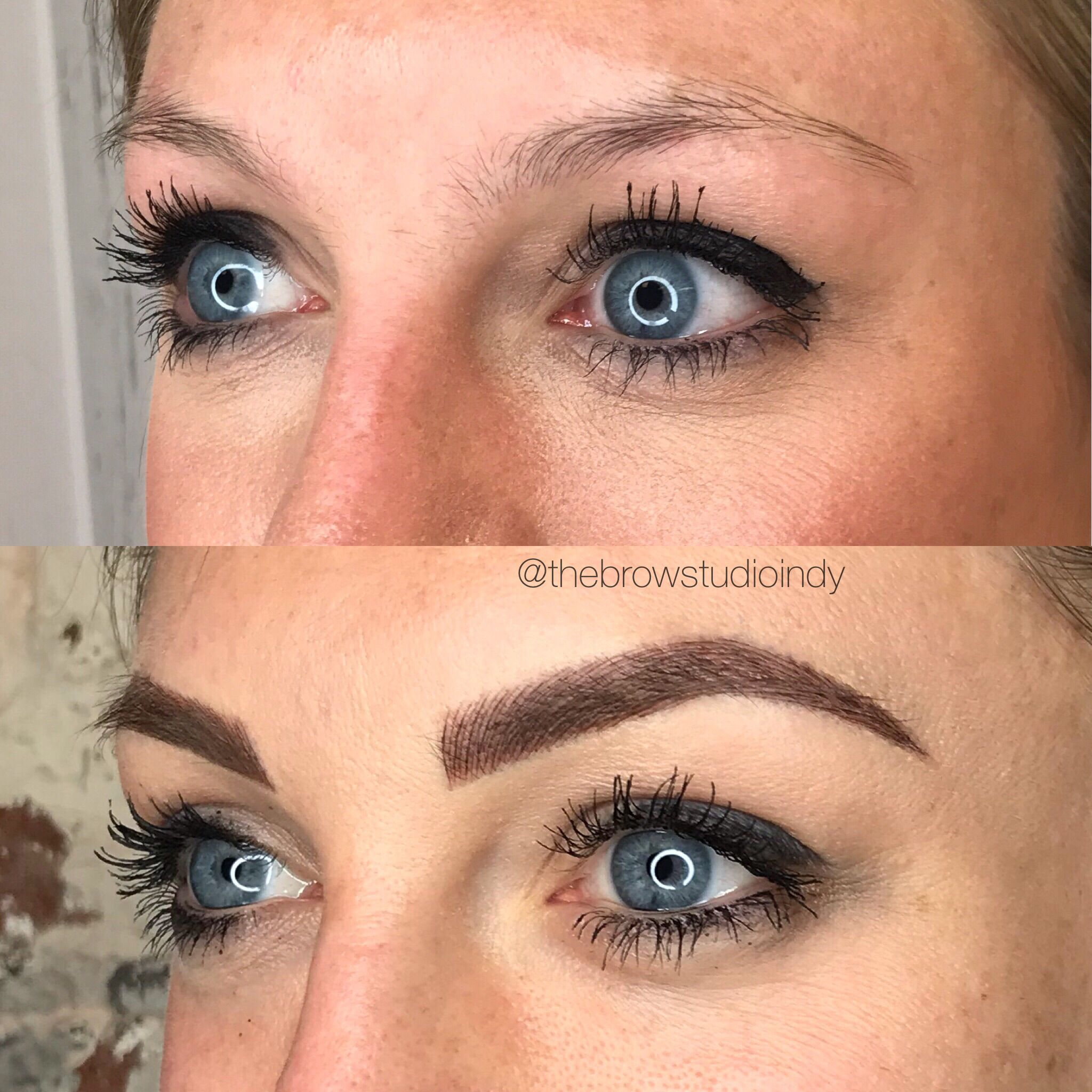 Before and After Microblading | Eyebrow Tattoo | Microblading