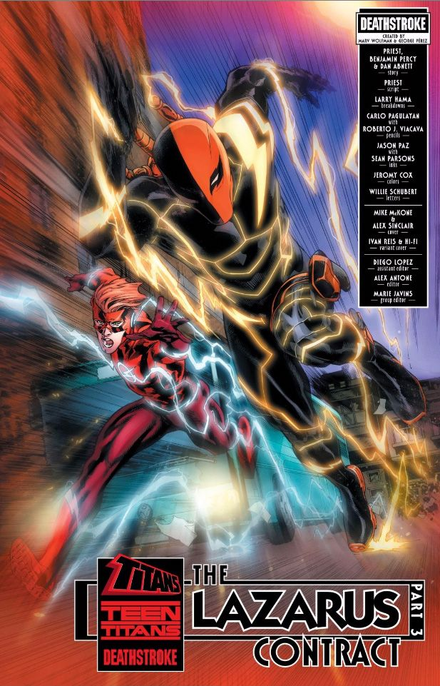 New Look At Deathstroke S Flash Costume Deathstroke Flash Comics Dc Deathstroke