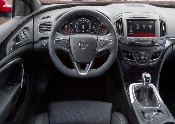 2014 Opel Insignia Opc Sports Tourer Interior Pictures 600x426 2014 Opel Insignia Opc Sports Tourer Vauxhall Insignia Opel Insignia