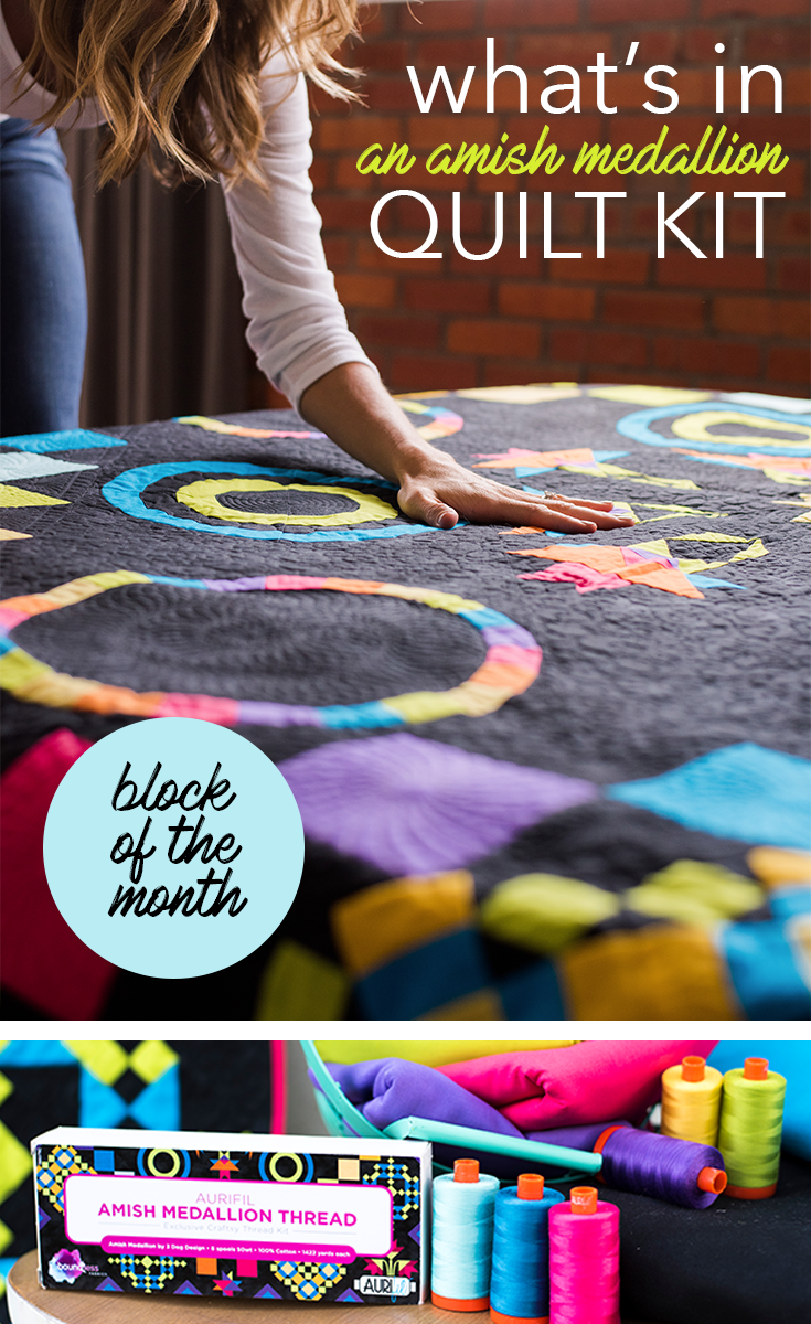 Craftsy S 2016 Block Of The Month Gives A Modern Twist On