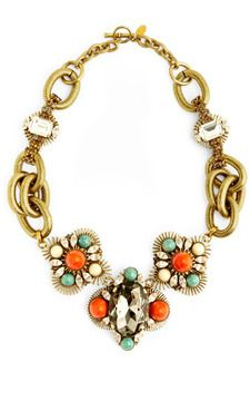 f3b158134f Anton Heunis Triple Clusterwire Setting Necklace on shopstyle.com ...