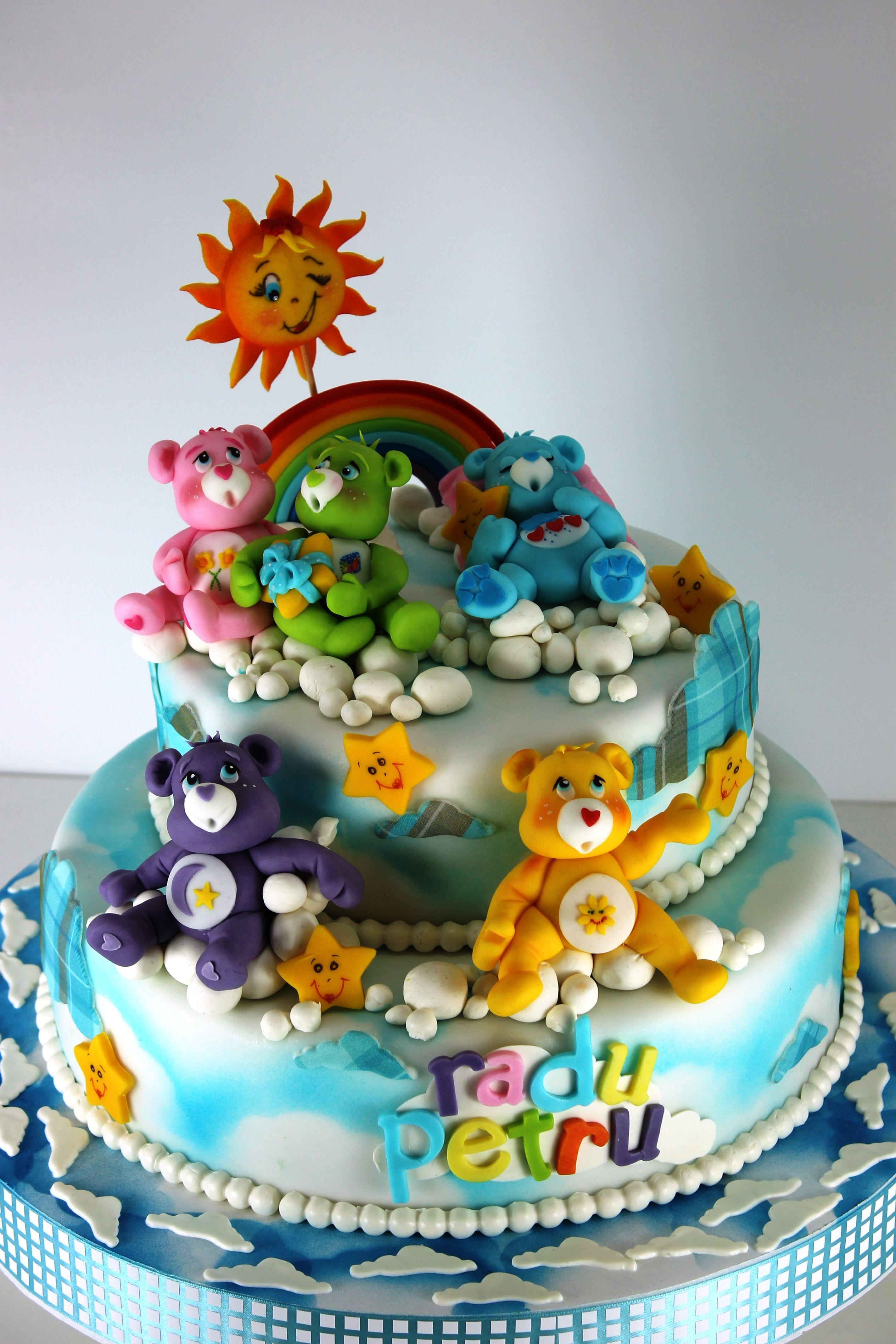 Carebear Cake | детские | Pinterest | Tortas decoradas para niños ...